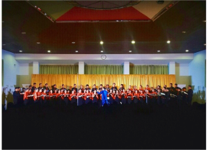 PSM UNPAR at their Internal Concert, Bandung, 2015.
