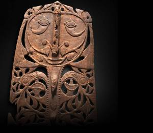 A 'Malu' plaque from the East Sepik Province (19th century)