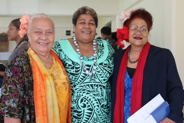 Female Candidates Samoan Election