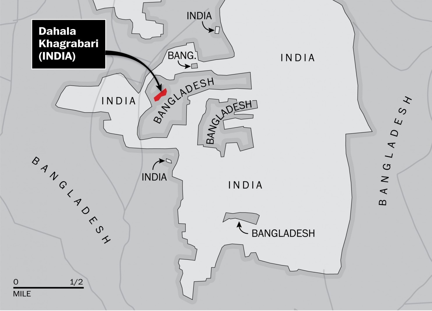 India Bangladesh Enclaves cropped