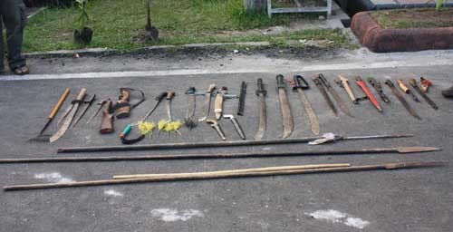 Tubir weapons
